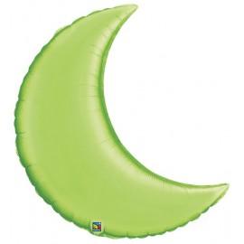 """Globos de foil Luna creciente de 35"""" Verde lima"""