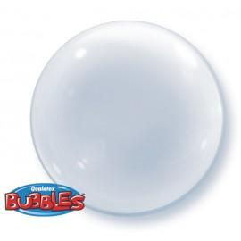 """Globos de foil de 24"""" Bubbles Deco Transparente"""