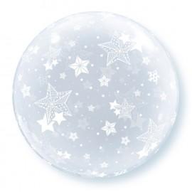 """Globos de 20"""" Bubbles Estrellas"""