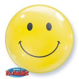 """Globos de foil de 22"""" Bubbles Sonrisas"""
