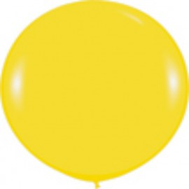 Globos 3FT (100cm) Fashion solido amarillo