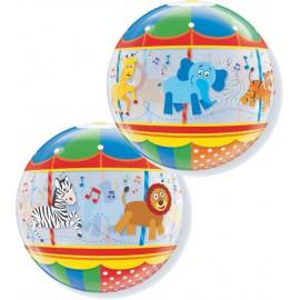 """Globos de foil de 22"""" Bubbles Carrusel"""