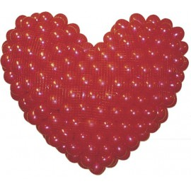 RED CAIDAS BALLOON PRO FORMA CORAZON 400 GLOBOS DE 5""