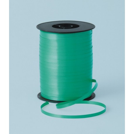 Cinta curling 5mm x 500m color verde esmeralda