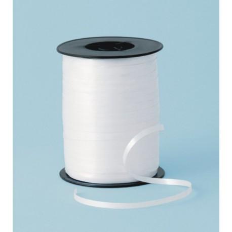 Cinta curling 5mm x 500m color blanco