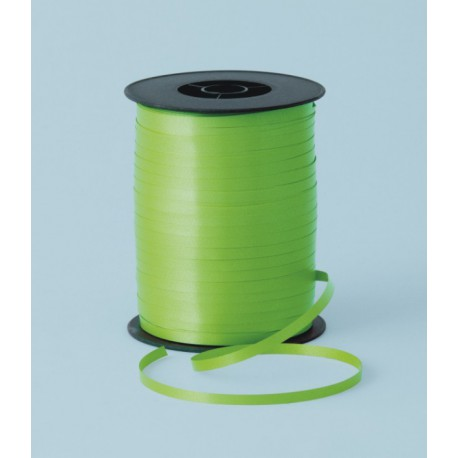Cinta curling 5mm x 500m color verde lima