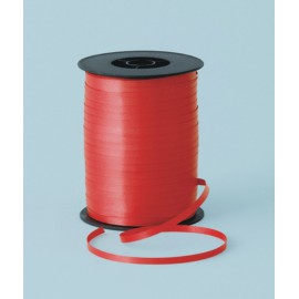 Cinta curling 5mm x 500m color rojo