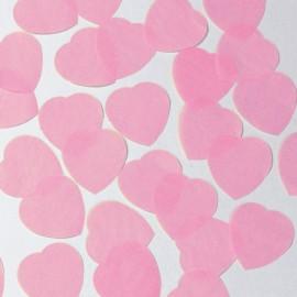 Confetti corazones rosa