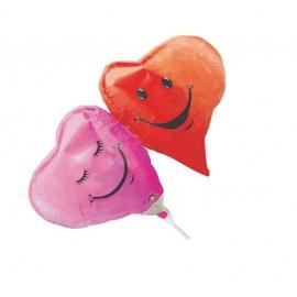 Globos de foil mini Doble Corazón