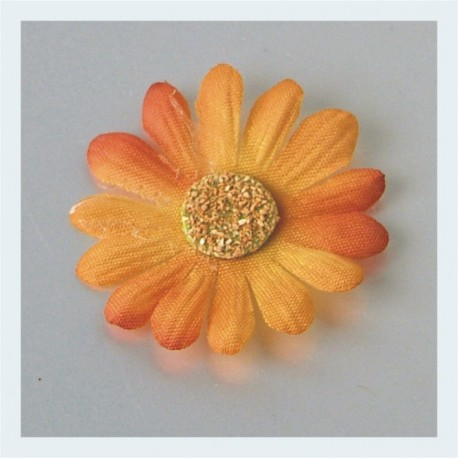 Margaritas naranjas autoadesivas