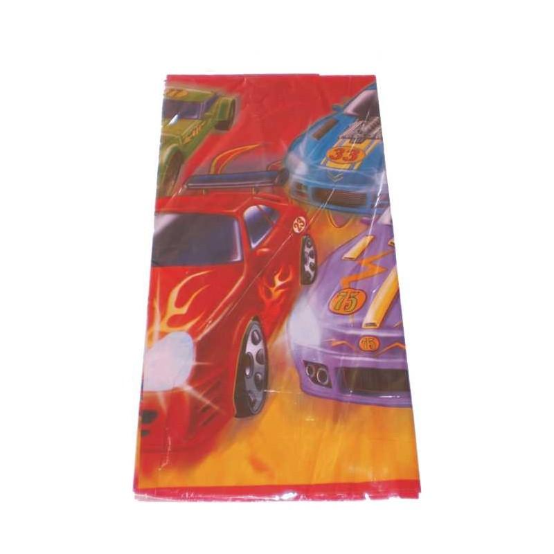 Mantel de plastico tem tica coches de carreras - Mantel plastico ...