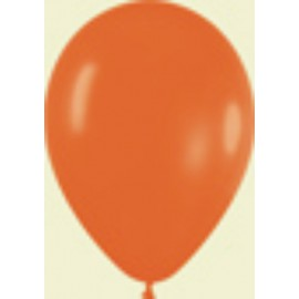 "Globos de 5"" Fashion solido naranja"