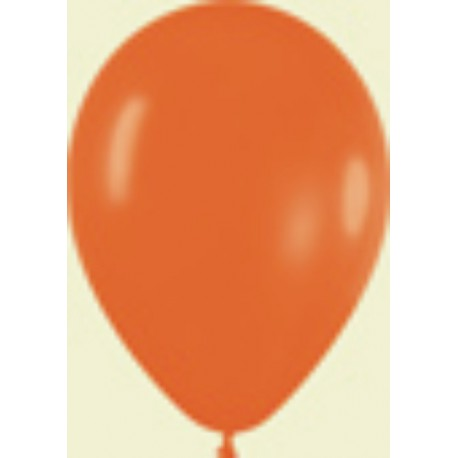 "GLOBOS 5"" FASHION SOLIDO NARANJA"