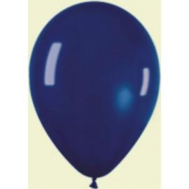 """Globos redondos 5"""" Premium Crystal azul marino"""