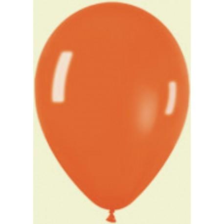 """Globos 11"""" Premium Crystal Naranja"""