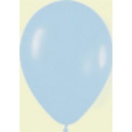 """Globos redondos de 11"""" Azul claro fashion pastel"""