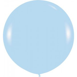 Globos 3FT (100cm) azul claro fashion pastel