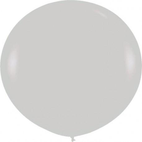 Globos 3FT (100cm) Plata satín perlado