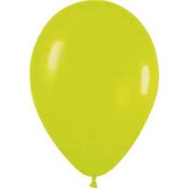 """Globos redondos de 12"""" Verde neón"""