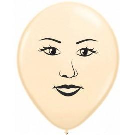 """Globos de 16"""" cara de mujer"""